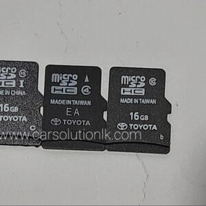 TOYOTA SAI MAP SD CARD