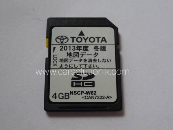 NSCP-W62 MAP SD CARD