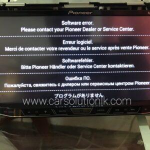 PIONEER AVH-8650 SOFTWARE