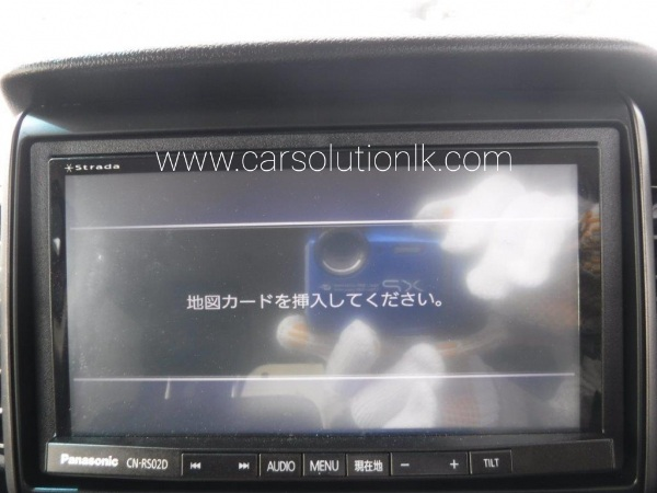 PANASONIC CN-RS02D MAP SD CARD
