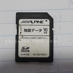 ALPINE VIE-EX009V Original Map SD Card