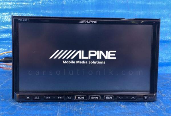 ALPINE VIE-X007 Player Map SD Card