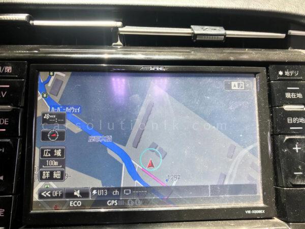 ALPINEVIE VIE-X008EX Player Map SD Card