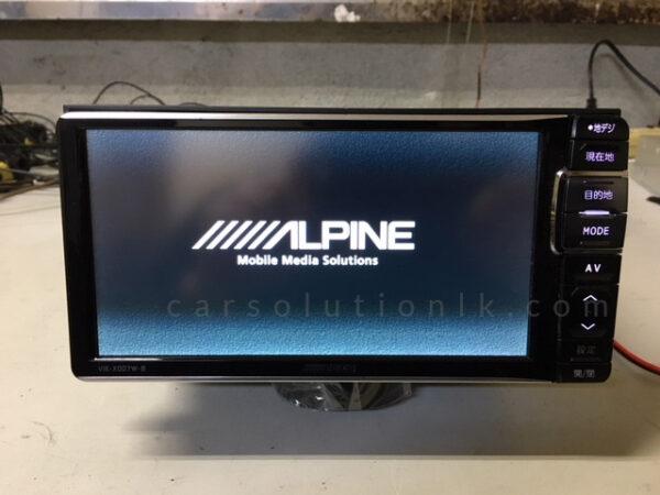 ALPINEVIE-X007W-B Player Map SD Card