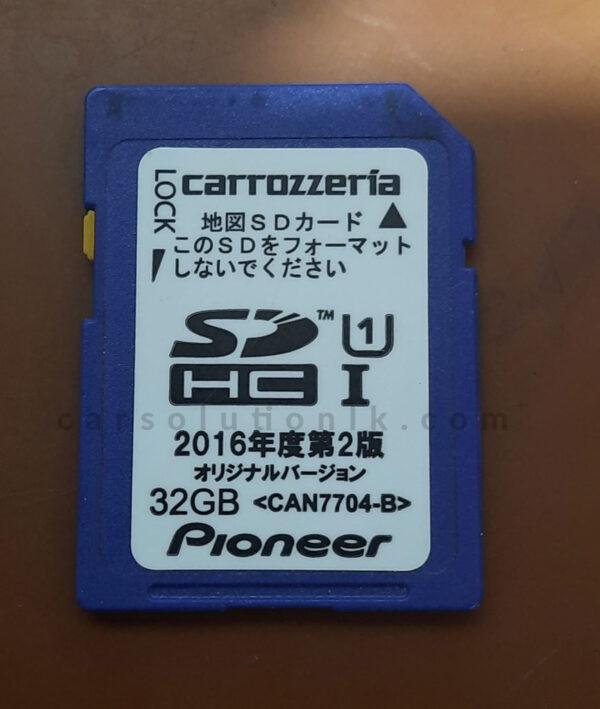 CARROZERIA NSZP-W67D MAP SD CARD
