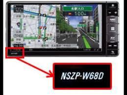 NSZP-W67D MAP SD CARD