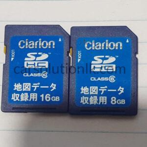 CLARION GCX612 MAP SD CARD