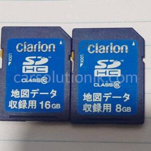 CLARION GCX613 MAP SD CARD
