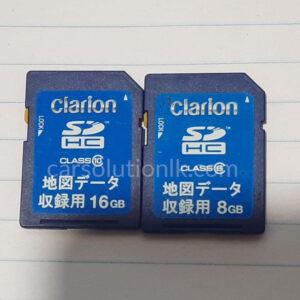 CLARION GCX711 MAP SD CARD