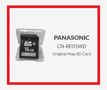 PANASONIC Original Map SD Card