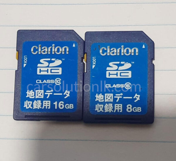CLARION NX612 MAP SD CARD