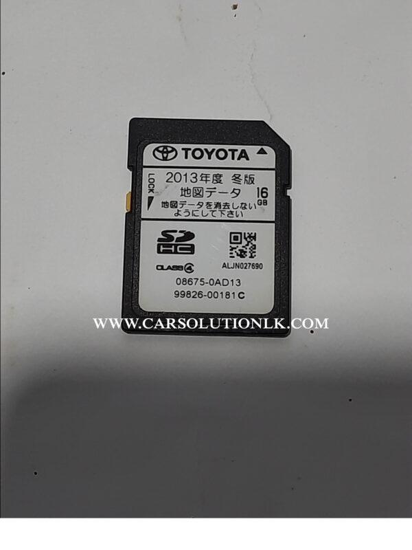 NSZT-W62G MAP SD CARD