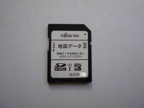ECLIPSE AVN Z04IW MAP SD CARD