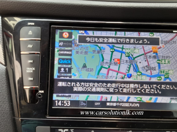 MM519 MAP SD CARD