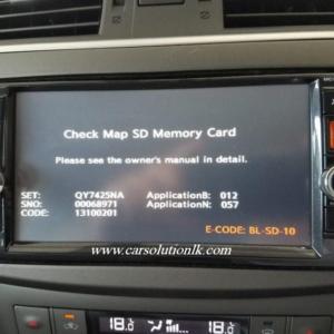 MC313 MAP SD CARD
