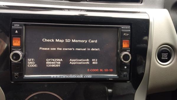 MC313D MAP SD CARD