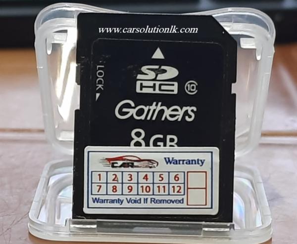 HONDA GATHERS VRU-195CVI MAP SD CARD